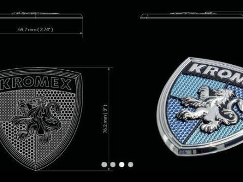 Shield shaped Kromex