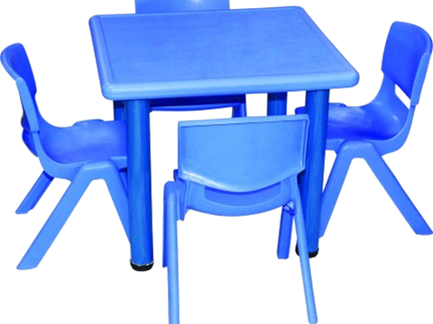 Injection moulding furniture