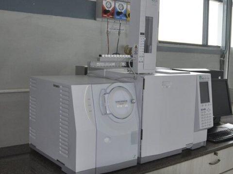 Detailed perfume analysis using gas chromotography