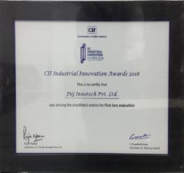 JSG industrial innovation award