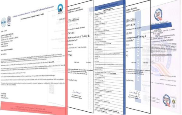 JSG Certificates