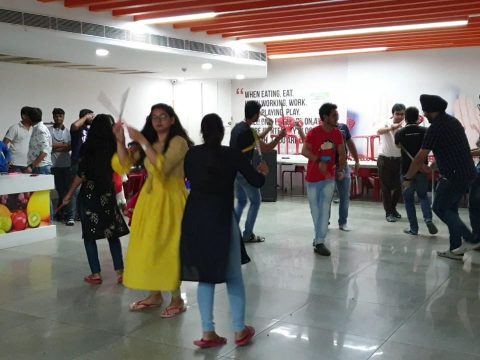 JSG dandiya festival