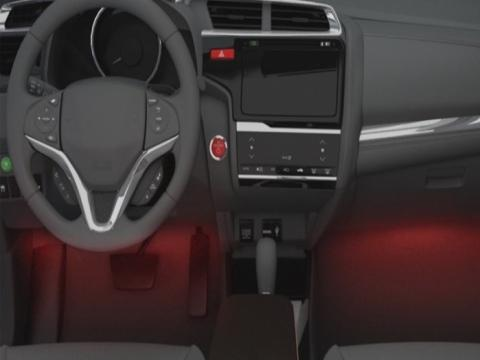 Injection moulding automobile interior